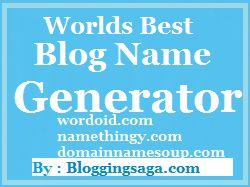 Worlds Top 3: Free Blog Name Generator Tools Online.