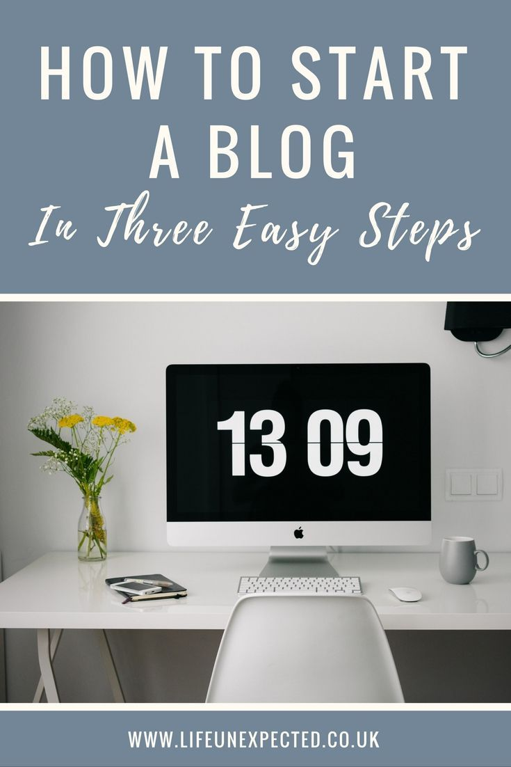 How To Start A Blog: In Three Easy Steps. A complete newbies guide to starting a professional blog.