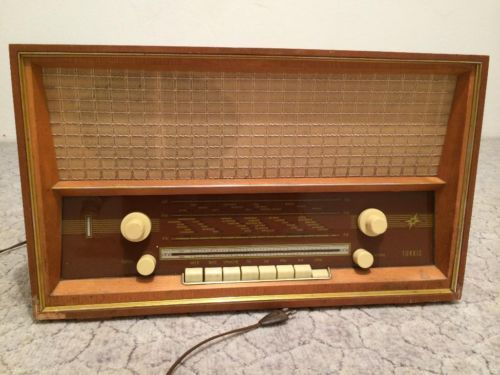 Röhrenradio: - Türkis - , Stern-Radio ,Rochlitz, RFT, DDR Repinned by www.gorara.com