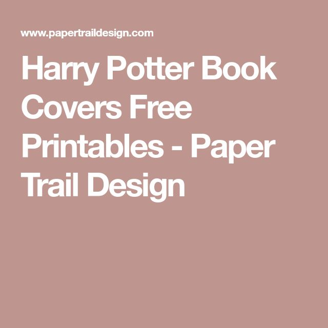 Harry Potter Book Cover Design ~ Best harry potter book covers ideas on pinterest