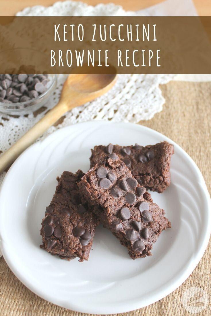 Keto Zucchini Brownie Recipe Brownie Recipes Low Carb Brownie