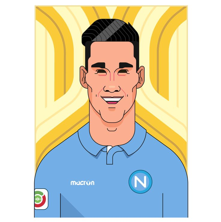 JOSÉ MARÍA CALLEJÒN BUENO | SPANISH SSC NAPOLI PLAYER @officialsscnapoli @jcalleti_7 @figurinepanini #callejón #calleti #josé #maria #illustrationart #triiiplete #triiipleteillustration #football #caricature #calcio #seriea #picoftheday #instacool #instadraw #napoli #ala #wing #topplayer #vector #soccer #portrait #gazzettadellosport #like4like #matchday #real #realmadrid @realmadrid #merengues #galacticos