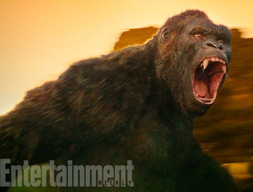 Kong: Skull Island unleashes exclusive first look at the movie monster. Link: http://www.ew.com/article/2016/11/10/kong-skull-island-first-look-movie-monster
