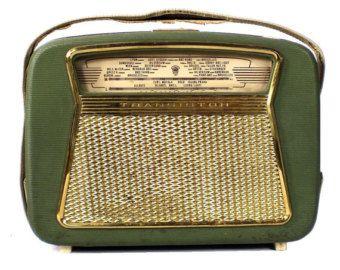 Vintage Orion Radio Transistor Orionette 1004-1 Hungary 1960