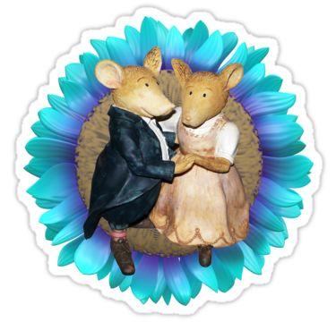 Rat Romance Sticker by StickerNuts