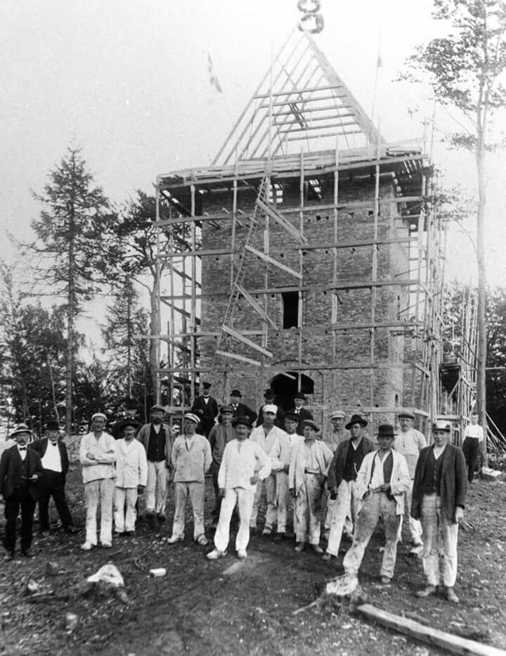 Gurre Kirke 1917