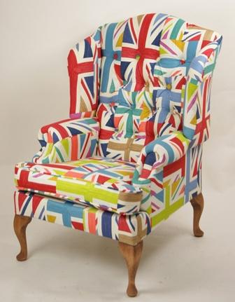 Bubble and Speak: Rule Britannia! Chair