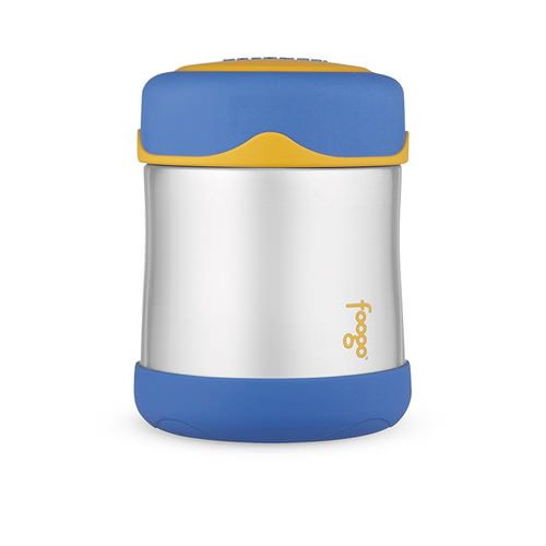 Thermos Foogo Stainless Steel Vacuum Insulated Food Jar Blue 290ml
