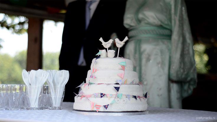 Weddingcake lovebirds5
