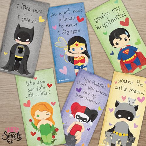 52 best images about Comic World – Print Your Own Valentines Card