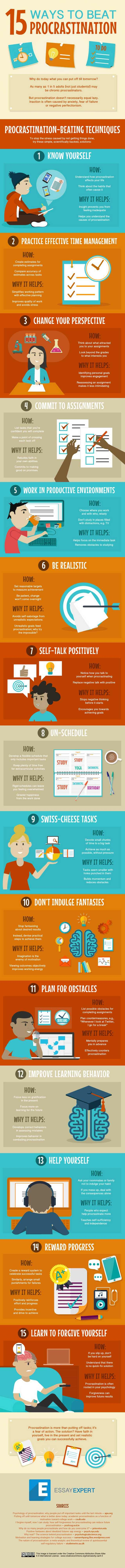 15 ways to beat procrastination - Imgur