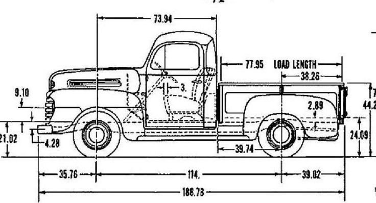 B Cafefd Be Be D on 1952 Ford F3 Pick Up
