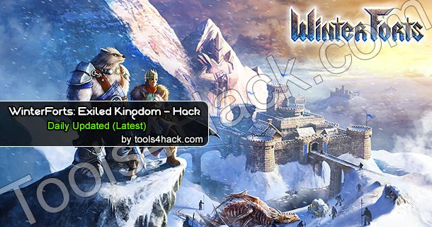 WinterForts Exiled Kingdom Hack Cheats VIP VERSION will generate GOLD, MANA, GEMS and FOOD! Try our WinterForts Exiled Kingdom Hack! Don't waste Your money http://tools4hack.com/winterforts-exiled-kingdom-hack-cheats-vip-version/