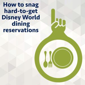 Probably the hardest part of booking a Disney World trip is deciding on and getting all of the dining reservations you want. Here are our tips on how to snag difficult di