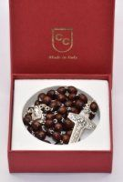 Pope Francis Wood Rosary Beads