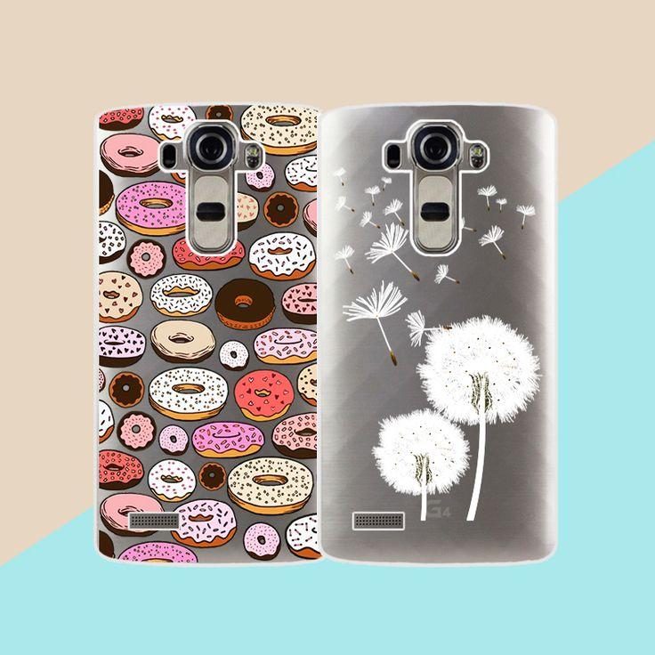 """ТПУ чехлы для LG G4 H815 H818 5.5 """"прозрачный печатным рисунком телефон случаях силиконовый чехол для LG G4 Модная чехол для телефона купить на AliExpress"""