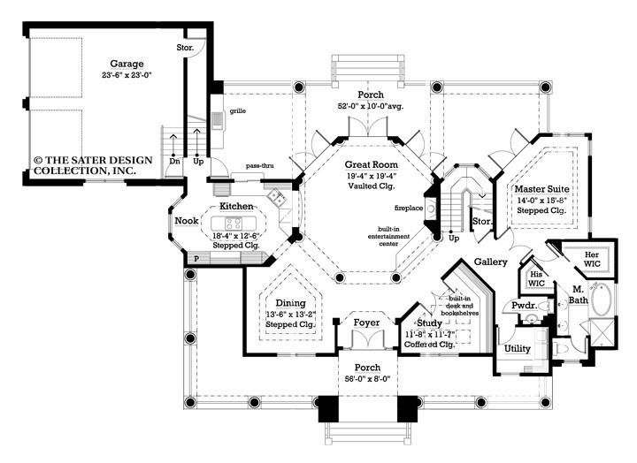 43 best Craftsman and Prairie Style Home Plans - The Sater ...