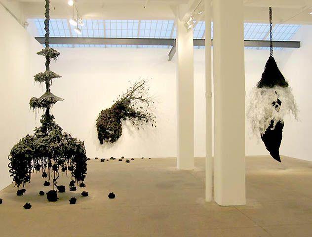 Petah Coyne: above and beneath the skin installation
