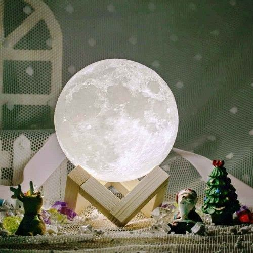 Kosmische Mond Lampe Fur Traumhafte Nachte Mond Lampe Nachtleuchte Stilvoll Wohnen