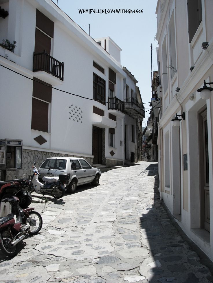 Ελλάδα (Greece), Skopelos, streets