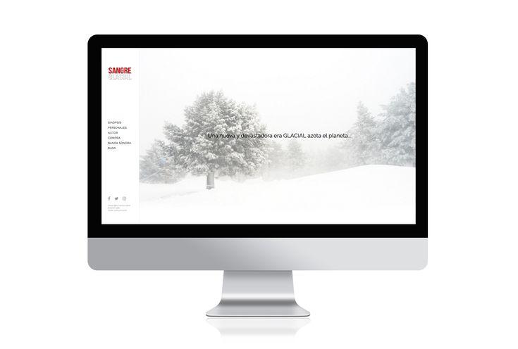 Website realizado por @loopcomunicacio para la presentación del libro SANGRE GLACIAL. Nos hemos encargado del diseño UI y UX, dirección de arte y su programación. Puedes visitar la web en http://sangreglacial.com/  #loopcomunicacio #loopcreativo #graphicdesign #diseñografico #dissenygrafic #web #webdesign