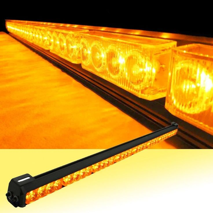 """==> [Free Shipping] Buy Best 35"""" 12V Super Bright 32 LED Yellow/White Car Auto Light Fireman Flashing Police Emergency Warning Strobe Light Online with LOWEST Price 