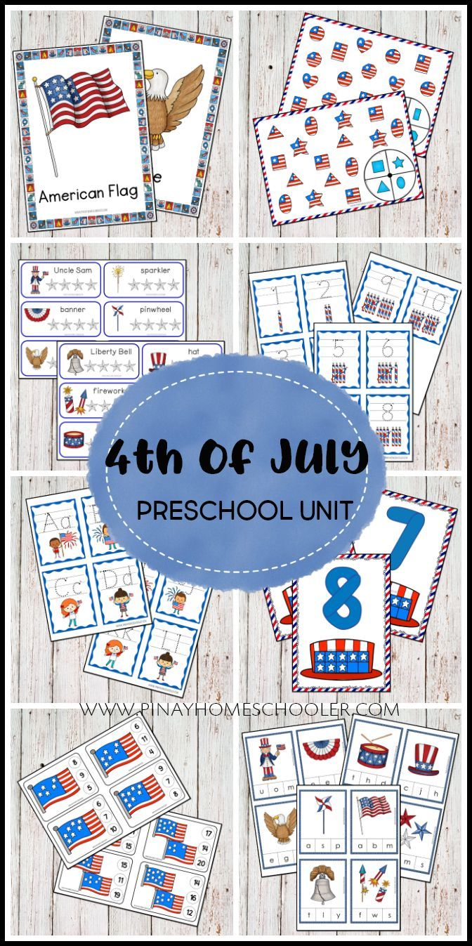 Fourth Of July 4th Of July Montessori Inspired Learning Printable Pack Is Filled With R Preschool Activities Kids Learning Activities Kindergarten Activities [ 1347 x 672 Pixel ]