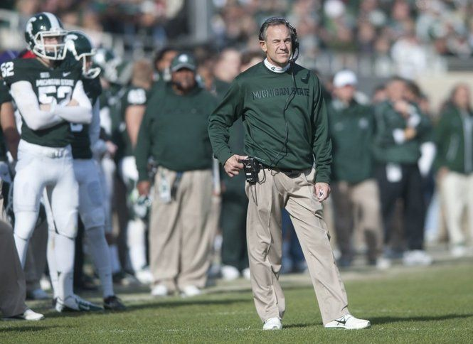 Michigan State football coach Mark Dantonio doesn't do a lot of scoreboard watching once the game kicks off, but he enters each contest with a goal in mind for his offense and defense.