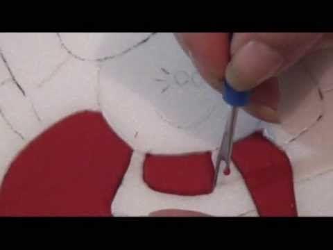 PATCHWORK NO ISOPOR (EMBUTIDO) - 4 - MAIS TÉCNICA BÁSICA - COM LU HERINGER - YouTube