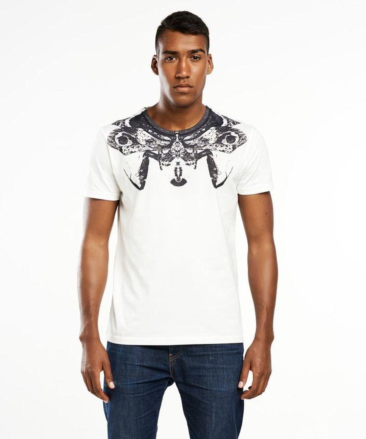T-shirt męski Deroplatys dessicata T-shirt - SELVA, od projektanta SELVA   Mustache.pl
