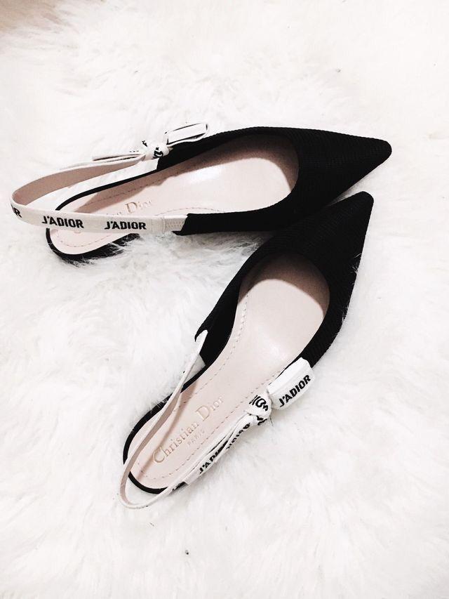 67b20f60a3 #macminiideas Slingback Flats, Suede Flats, Slingbacks, Pumps, Christian  Dior Shoes,