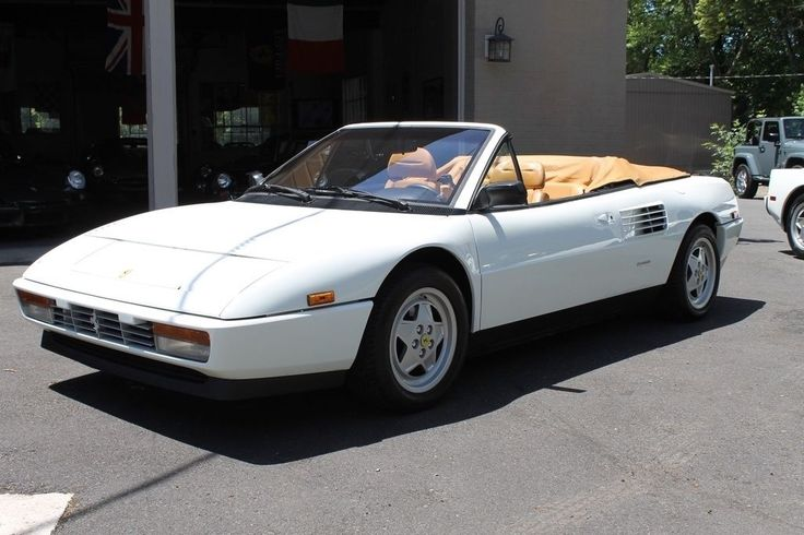 Car brand auctioned:Ferrari Mondial T Mondial T Major Service just completed by … #ferrari