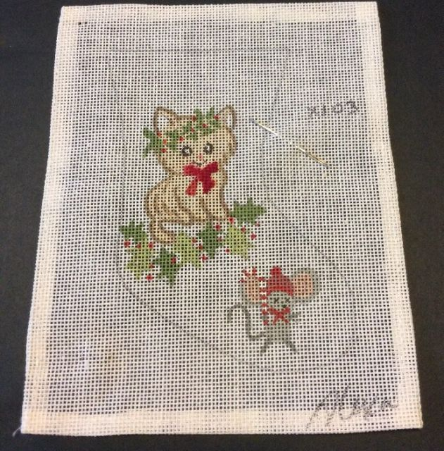 christmas stocking needlepoint canvas alexa
