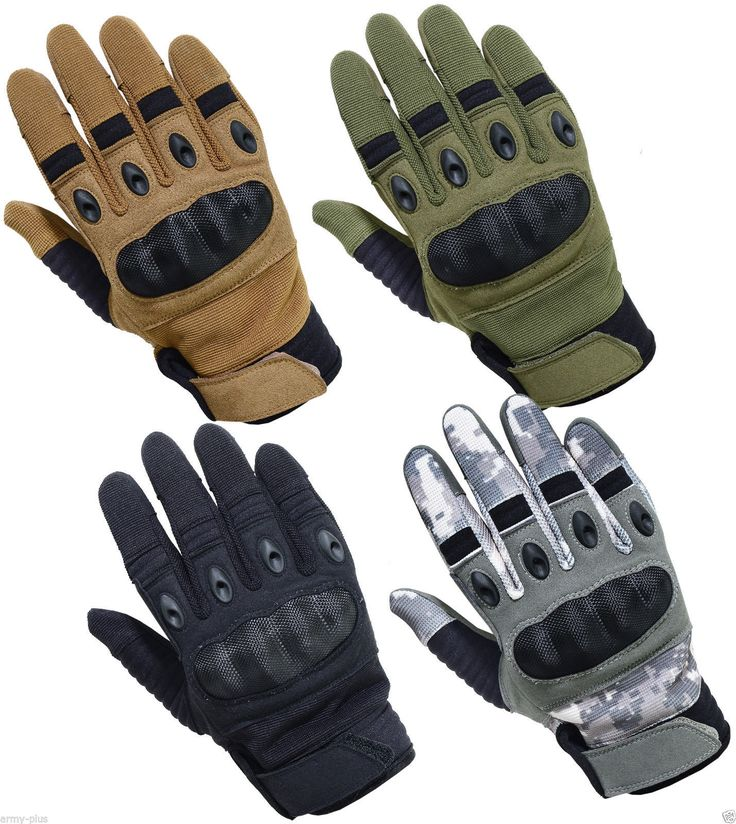 TACTICAL ASSAULT COMBAT PATROL HARD KNUCKLE SHOOTING GLOVES ARMY POLICE AIRSOFT | eBay