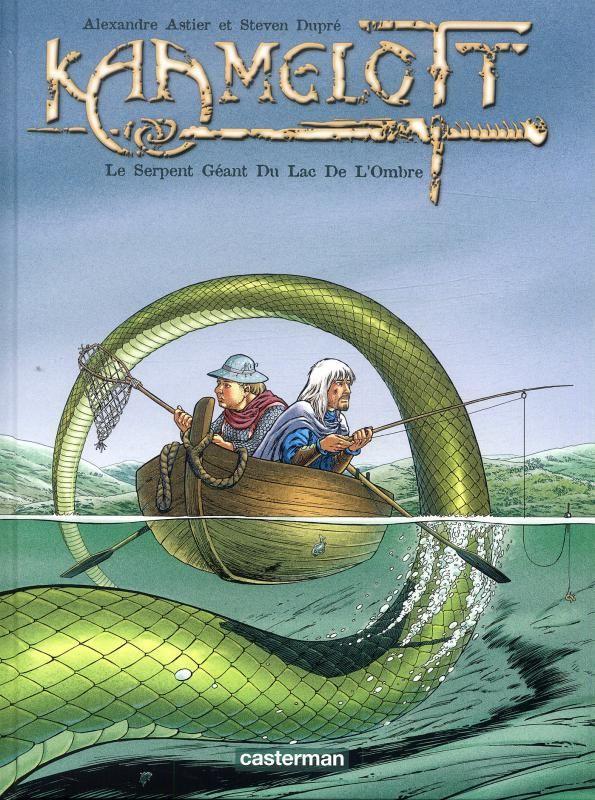 Kaamelott Tome 5 - Le serpent géant du lac de l'ombre