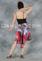 Graceful Charmeuse Tango Skirt, by Dahlal USA