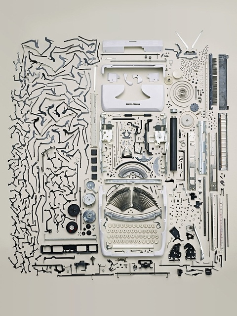 Diana: Deconstructed Objects Shot by Todd McLellan: Old Typewriters, Inspiration, Toddmclellan, Disassembl Typewriters, Apartment, Graphics, Collection, Todd Mclellan, Photography