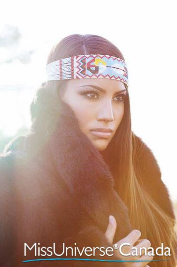 Ashley Callingbull, Cree First Nations woman from the Enoch Cree Nation in the province of Alberta. Actor. In June 2010, Ashley placed 2nd Runner up in the Miss Universe Canada 2010 Pageant.