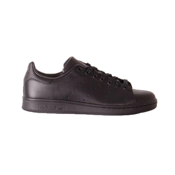 adidas Stan Smith Zwart Sneakers Heren  Deze strakke herenschoenen in 1971 ontworpen voor tennisster Stan Smith hebben een speciaal plekje in de stijlgeschiedenis. Het gladde bovenwerk van volnerfleer met geperforeerde 3-Stripes en de rubberen loopzool in bijpassende kleur hebben van deze low top een waar sneaker-icoon gemaakt.  EUR 94.99  Meer informatie  #sneakers