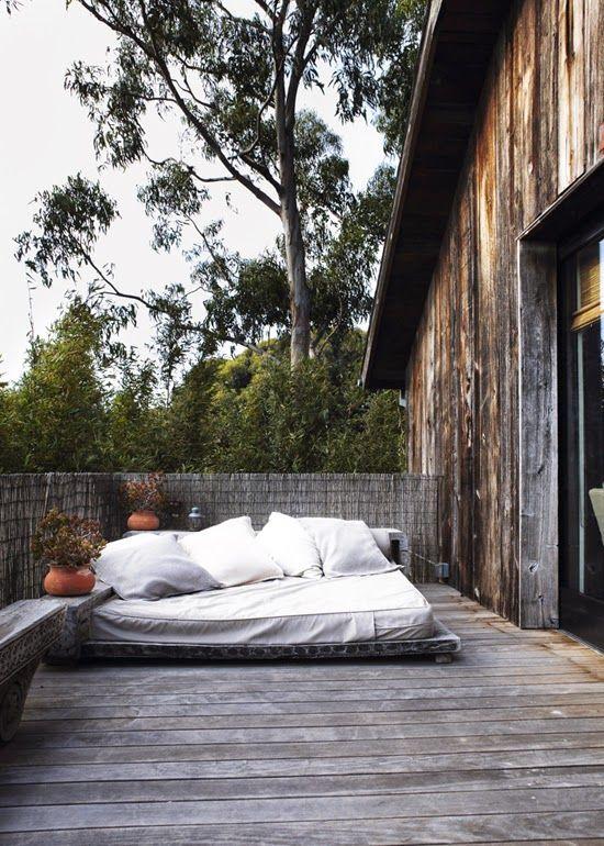 #Sanvalentine terrace bed | my scandinavian home - michelamartini@michelamartini.com - Posta Michela Martini