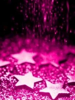 Download Pink Stars Wallpaper 36755 From Mobile Wallpapers This Is Compatible