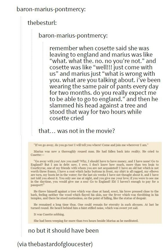We need to discuss this. << I laughed so hard when I read this in the book