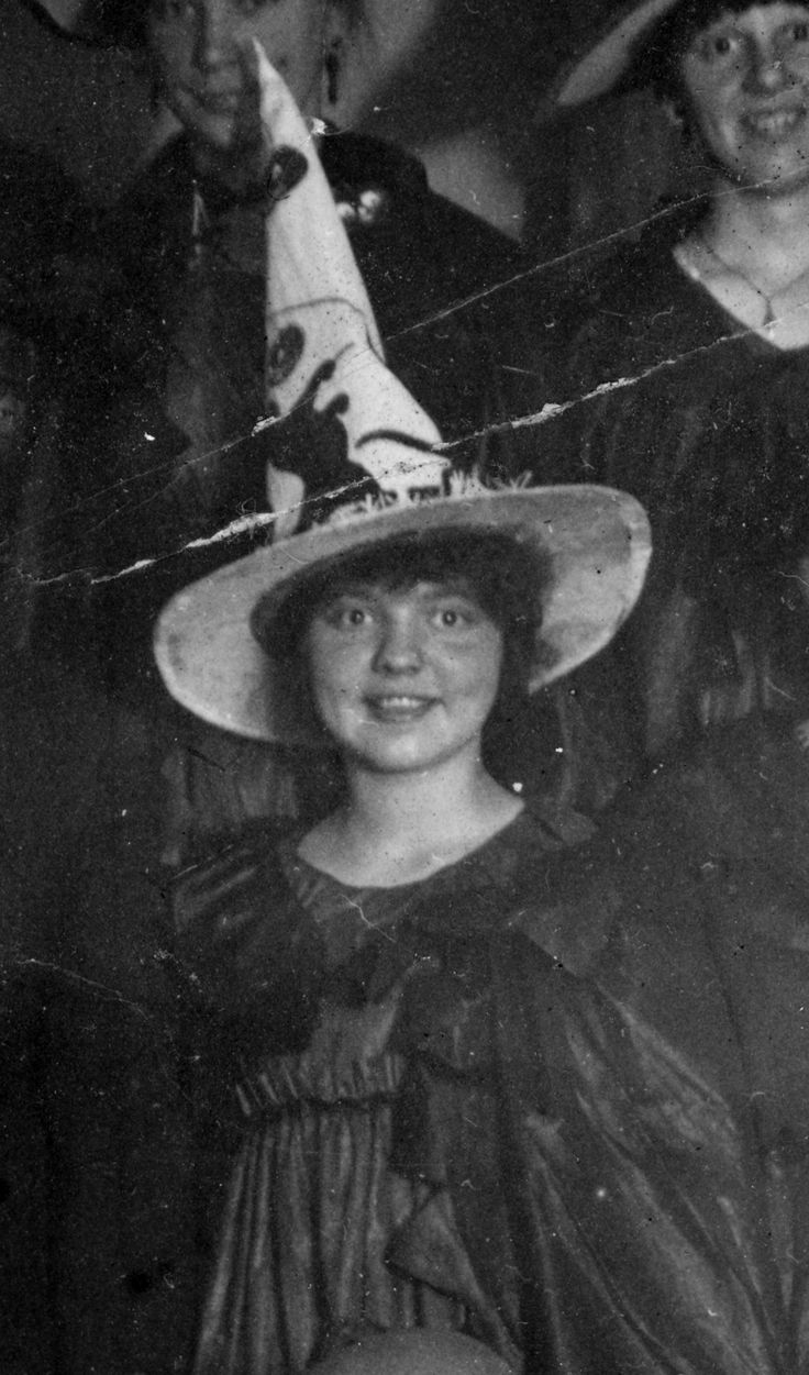 Old Photo Of A Witch Cousin Abagail