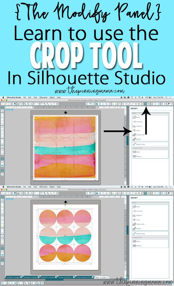 How to make cute craft projects with the Silhouette CAMEO. Step by step on how to design your own files!