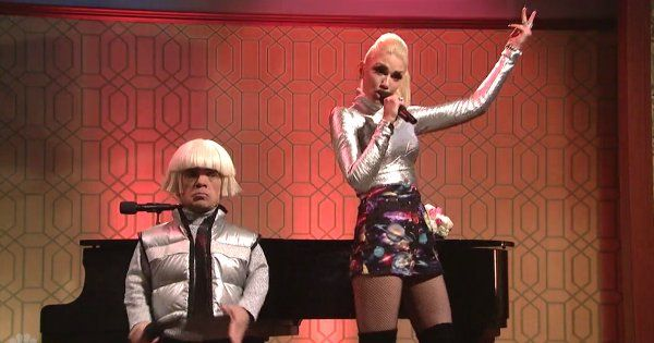 0000000Watch Gwen Stefani & Peter Dinklage perform 'Space Pants' On SNL  As of yet, this is the only video version we could find..  [...]