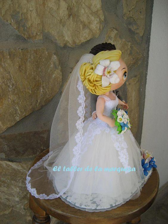 Que lindos, verdad?. Hechos por encargo para el primer aniversario de su boda.