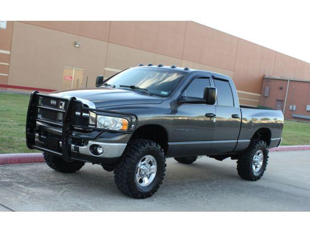 new offer   Dodge : Ram 2500 Cummins 5.9L 2006 dodge ram 2500 diesel 4 x 4 slt regular cab lifted long bed 20 s 1 texas owner  Price: $5000.0   Ends on : 201...