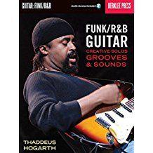 Aprende en forma avanzada  funk / R & B guitarra! Estos ejercicios prácticos, licks, y discusiones técnicas le ayudarán a tocar  en el estilo de Kool y el Gang, Príncipe, James Brown, Sly y la Piedra Familiar, Jimi Hendrix, Curtis Mayfield, Soulive y otros grandes artistas, que abarcan desde vieja escuela contemporánea al funk / R & B groove.