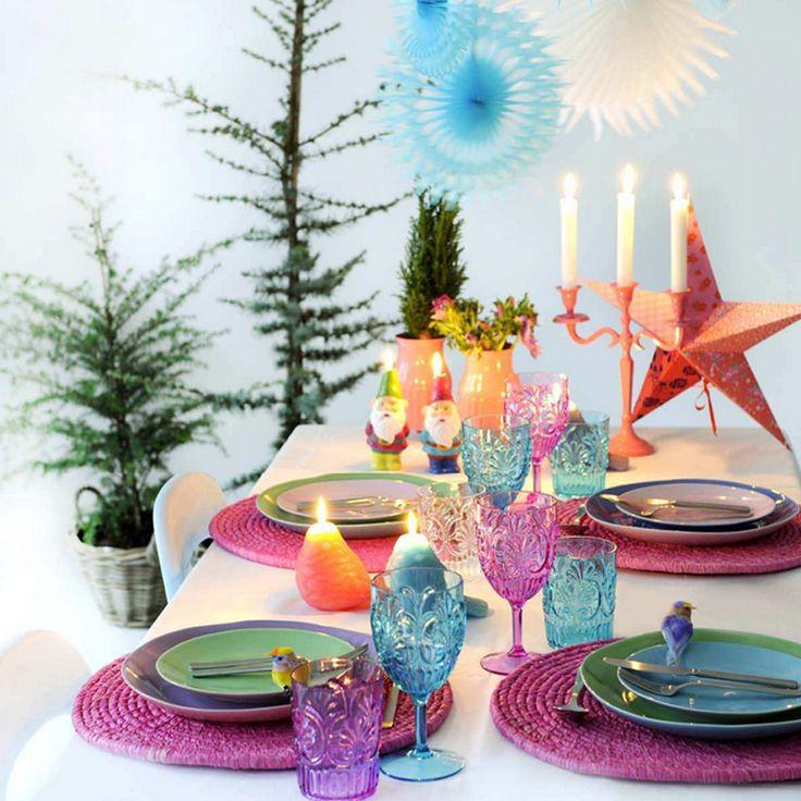 Kay Bojesen and Rice Christimas table setting. Grand Prix Cutlery / flatware. Danish Design.
