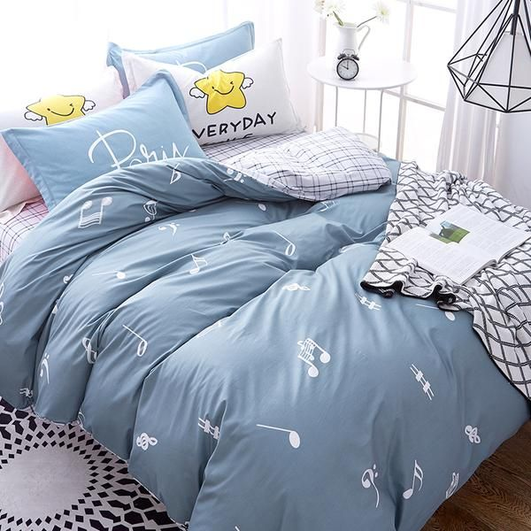 Musical Note Bedding Set In 2020 Girl Crib Bedding Sets Baby